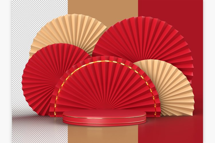 Chinese New Year Mockup Scene example image 1