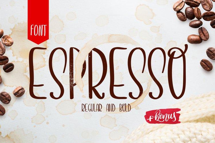 Espresso font