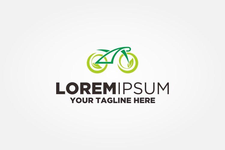 Bicycle Leaf Logo example image 1