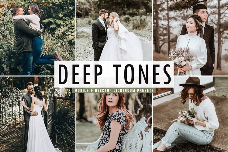 Deep Tones Mobile & Desktop Lightroom Presets example image 1