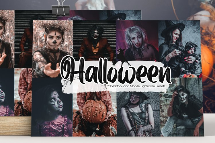Halloween Lightroom Presets example image 1