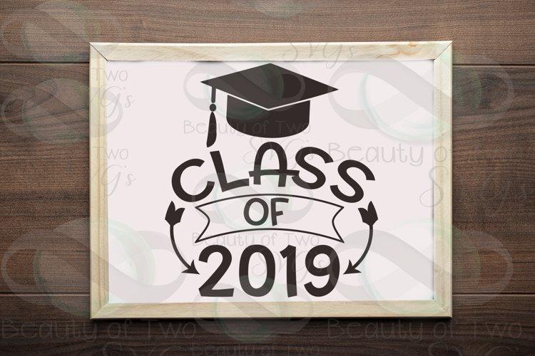 Class of 2019 svg, 2019 Graduate svg, Congrats 2019 grad svg
