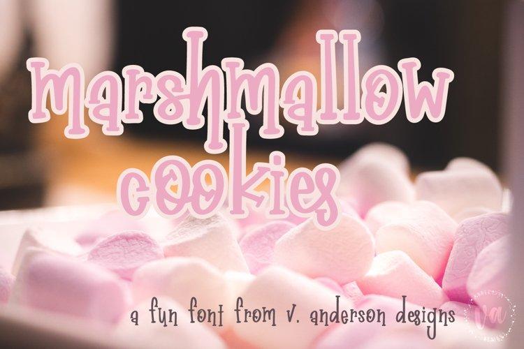 Marshmallow Cookies | A Handwritten Serif Font