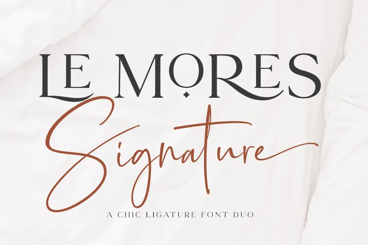 Le Mores Collection Font Duo example image 1