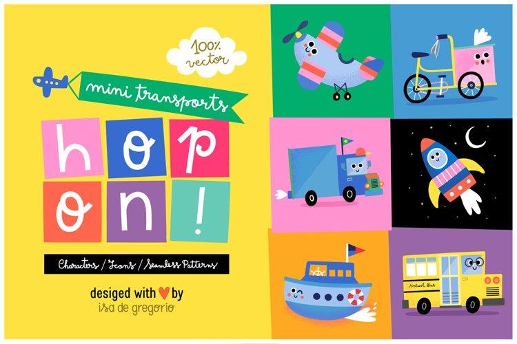 Hop On! Cute Mini Transports