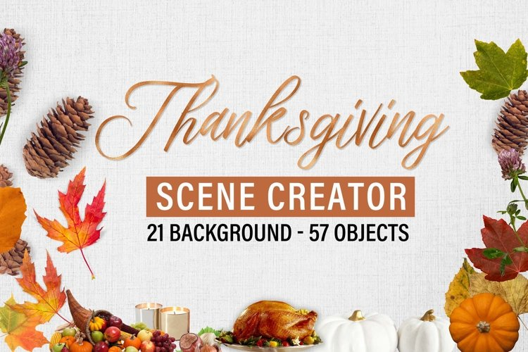 Autumn and Thanksgiving scene creator example image 1
