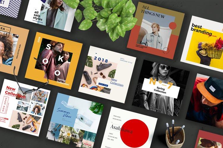 SOKA-Social Media Brand Pack Templates example image 1