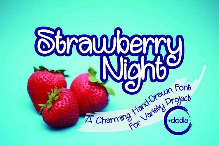 Strawberry Night example image 1