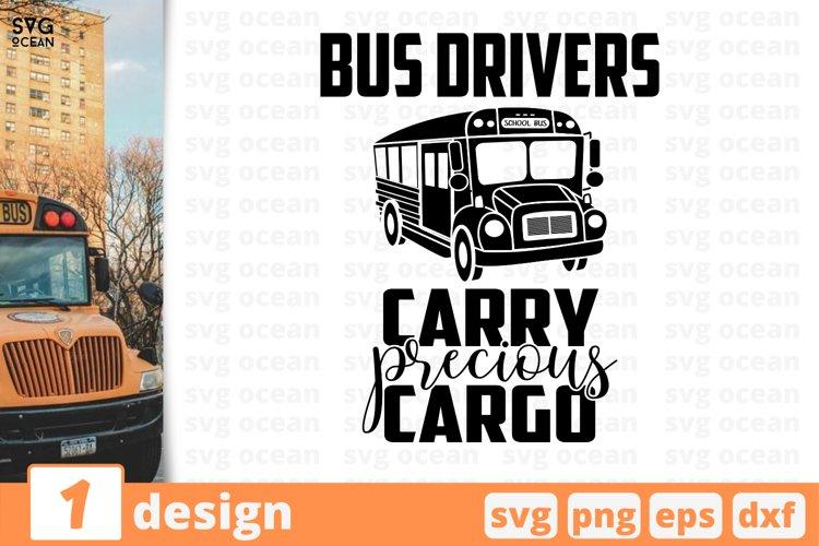 SCHOOL BUS DRIVER SVG BUNDLE | Back to school cricut | Quote example image 1