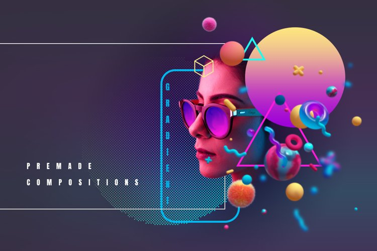 3D Suprematism example image 1