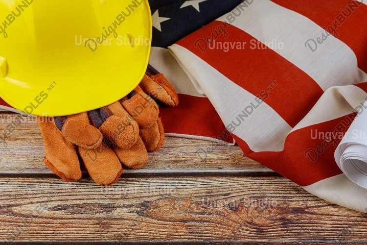 Labor Day USA patriotic a federal holiday example image 1