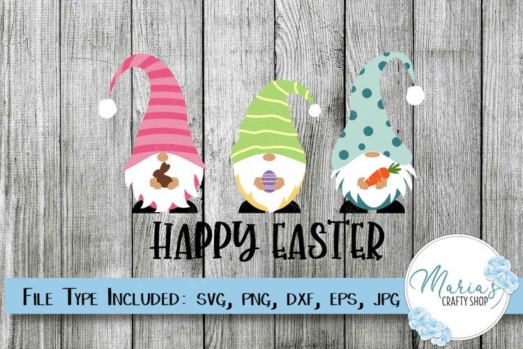 Gnome SVG, Easter Gnome svg, Happy Easter svg