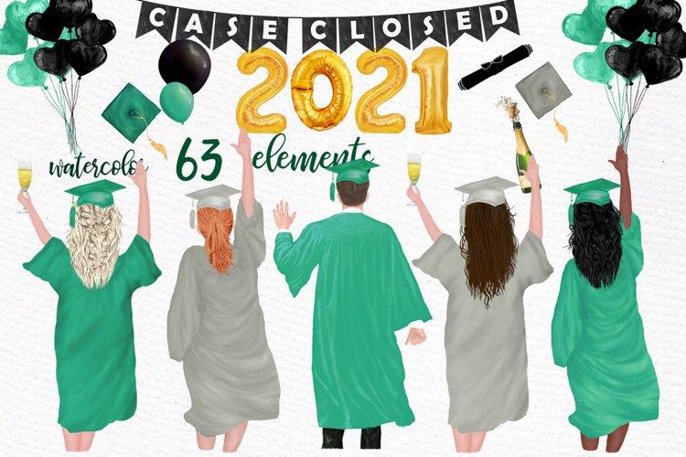 Graduation Clipart Graduate students Graduation Toga Hat