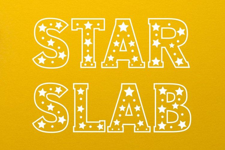 Star Slab Font example image 1