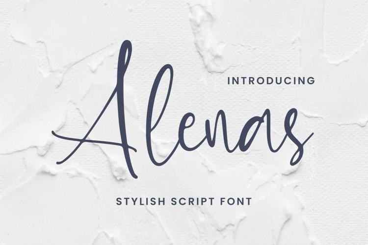 Alenas Font example image 1