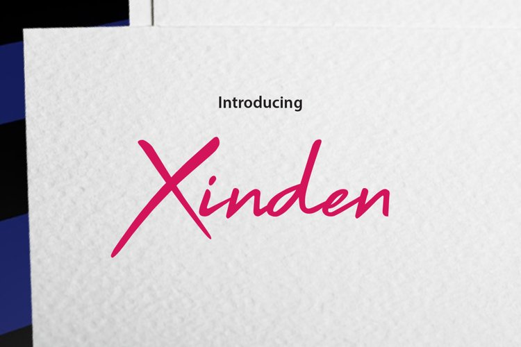 Xinden example image 1