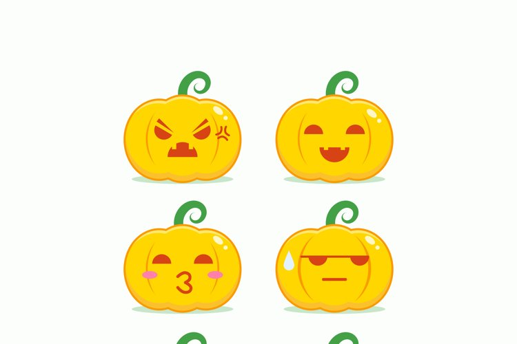 Pumpkin Head Emoticon example image 1