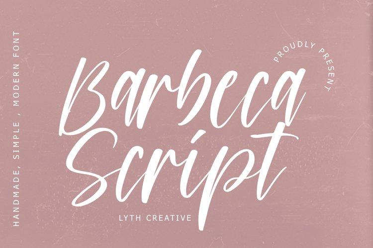 Barbeca Script example image 1