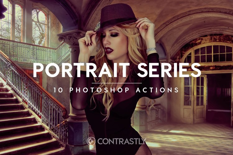 Portrait Series Photoshop Actions example image 1