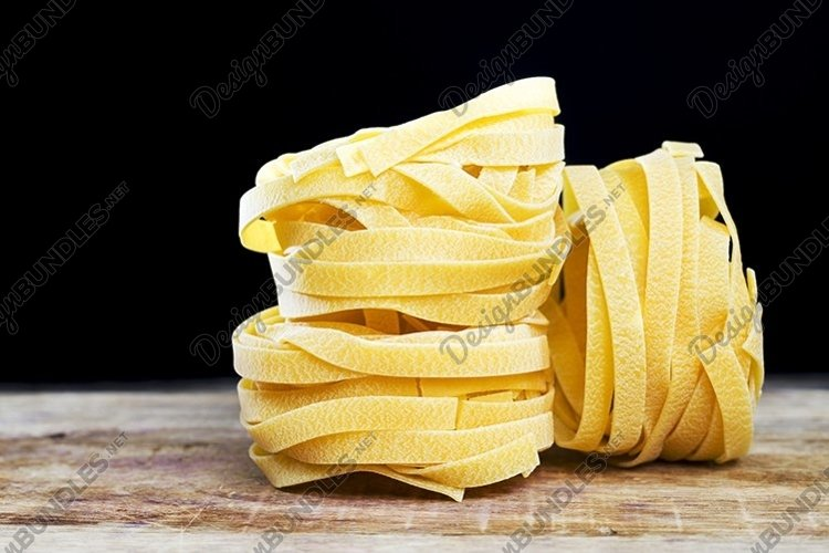 several twisted long pasta example image 1
