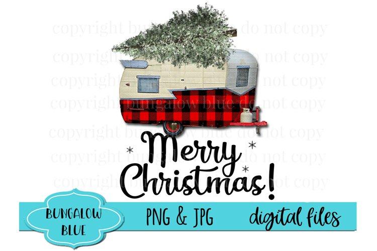 Retro Camper Vintage Merry Christmas Darling Digital File Designs for Sublimation Download PNG JPEG