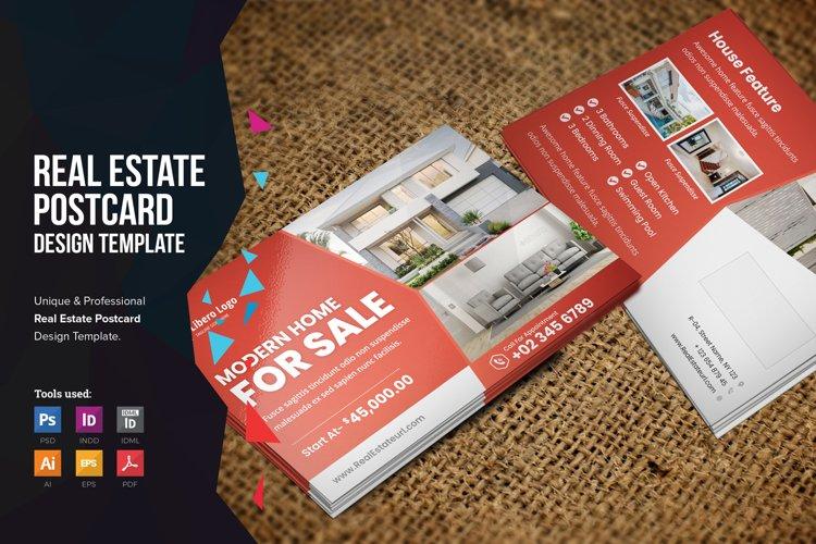 Real Estate Postcard Design v2
