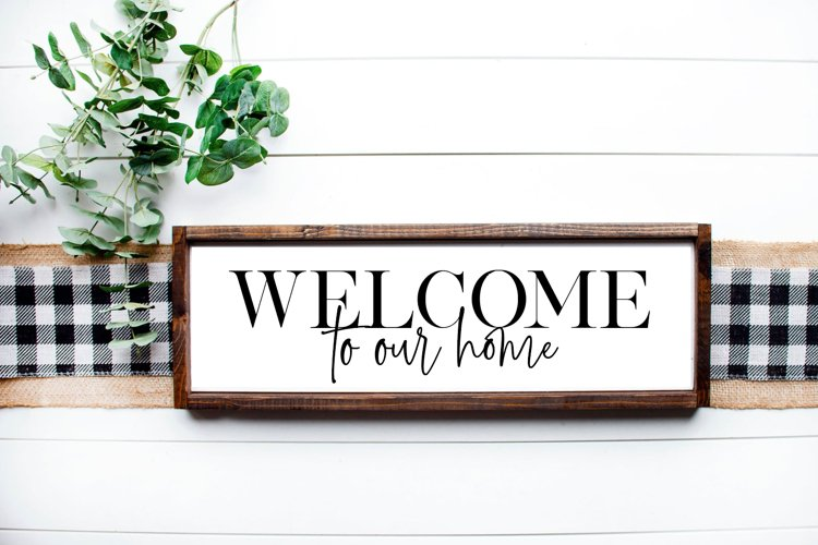 Welcome to our home on 8x24 Sign, 5 Cut Files