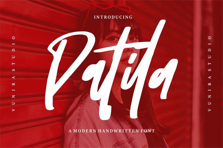 Patila | A Modern Handwritten Font