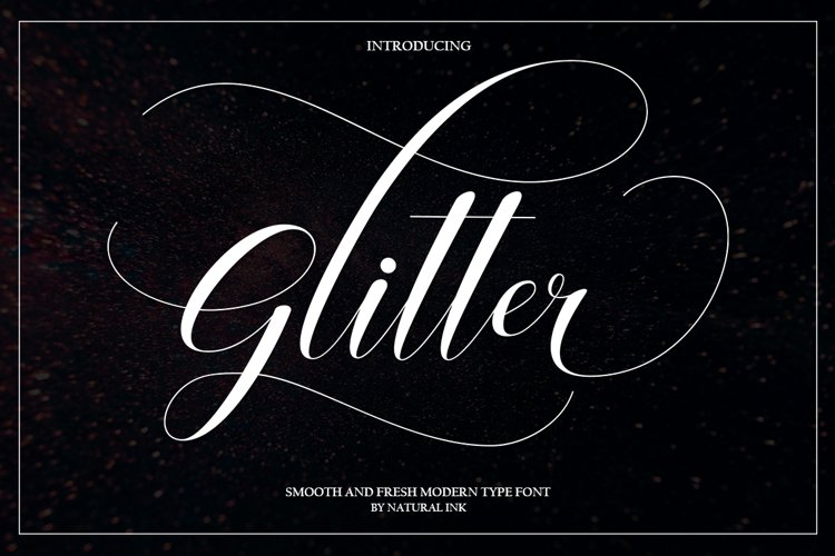 Glitter example image 1