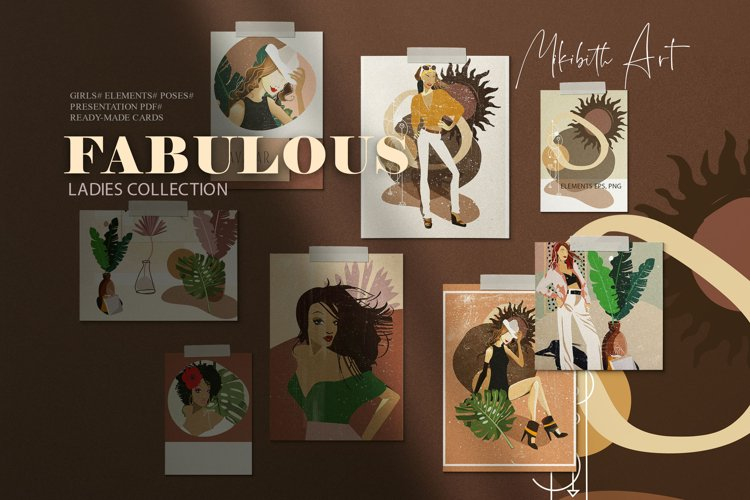 Fabulous girls collection