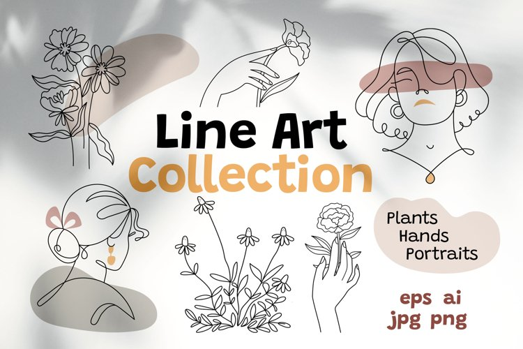 Line art collection
