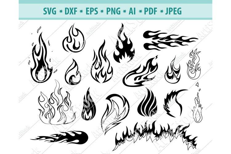 Fire SVG, Flames SVG, Fire SVG, Flames SVG, Dxf, Png, Eps