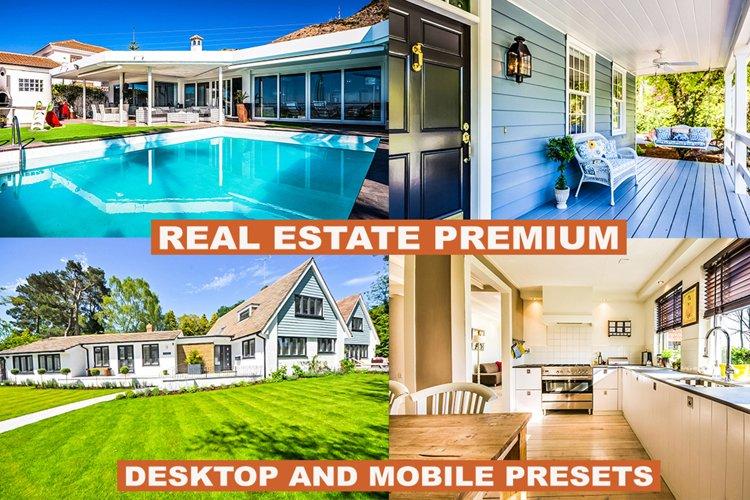Real Estate Lightroom Presets and Acr Photoshop Premium