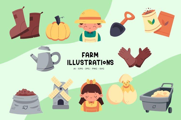 Farm Illustrations