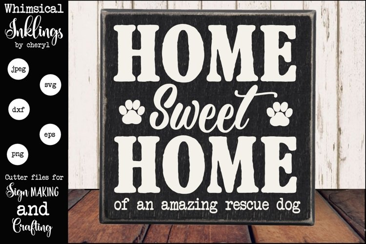 Rescue Dog SVG example image 1