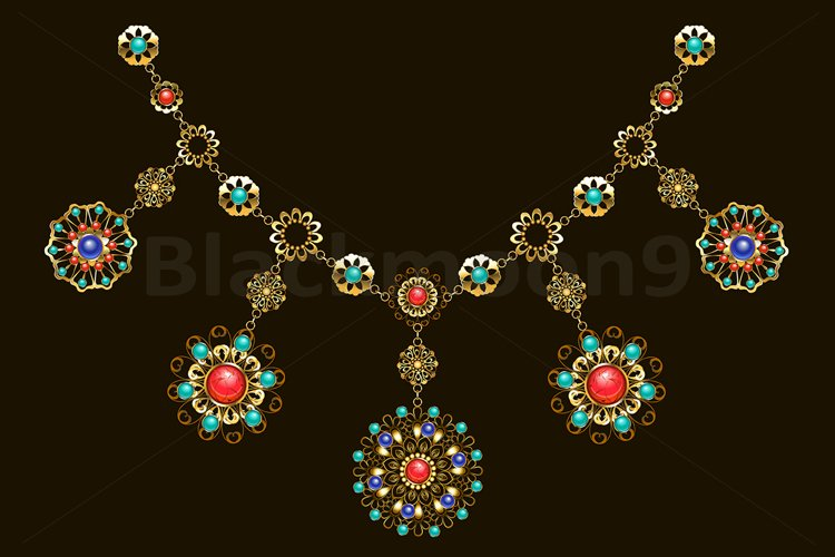Ethnic Necklace example image 1