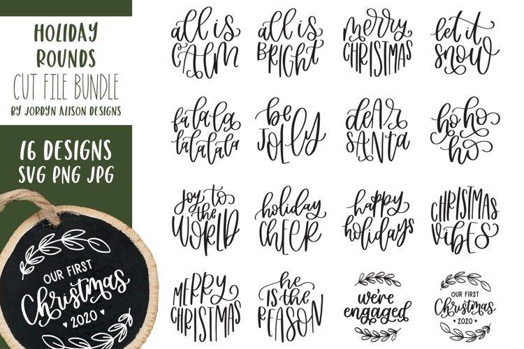 Holiday Rounds Bundle, Ornament SVG Bundle