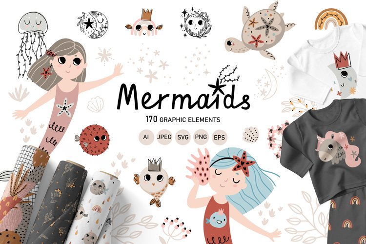 Mermaids example image 1