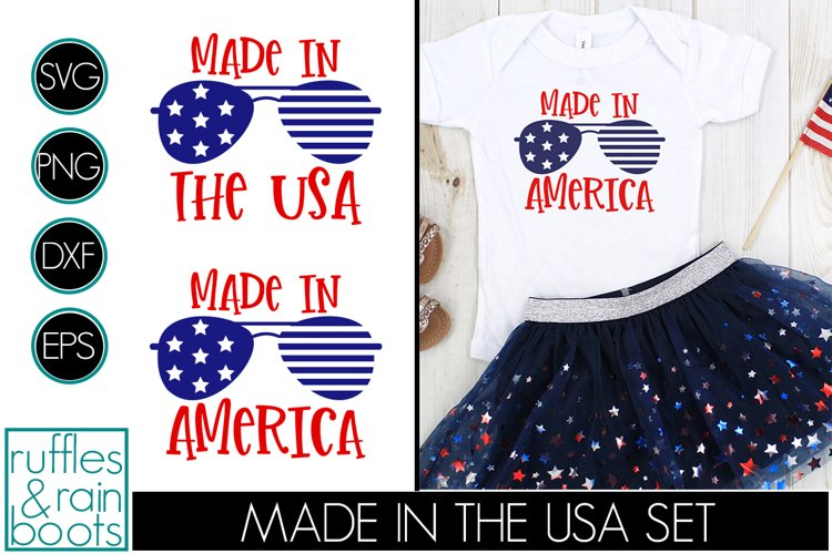 Made in the USA SVG and Made in America Cut Files