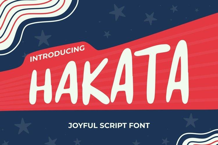 Web Font Hakata Font example image 1