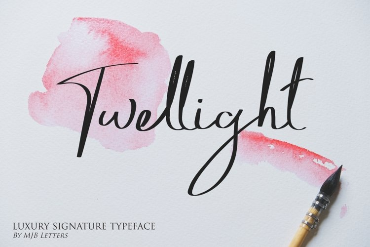 Twellight | Signature Typeface example image 1