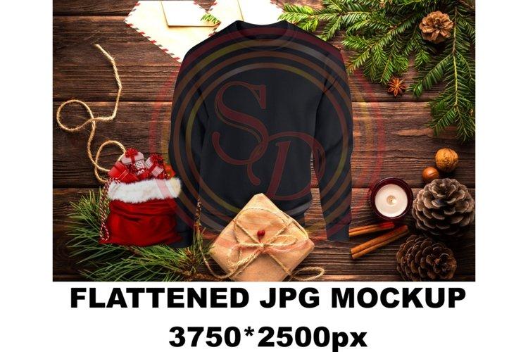SDPA Christmas sweatshirt Mockup-Black example image 1