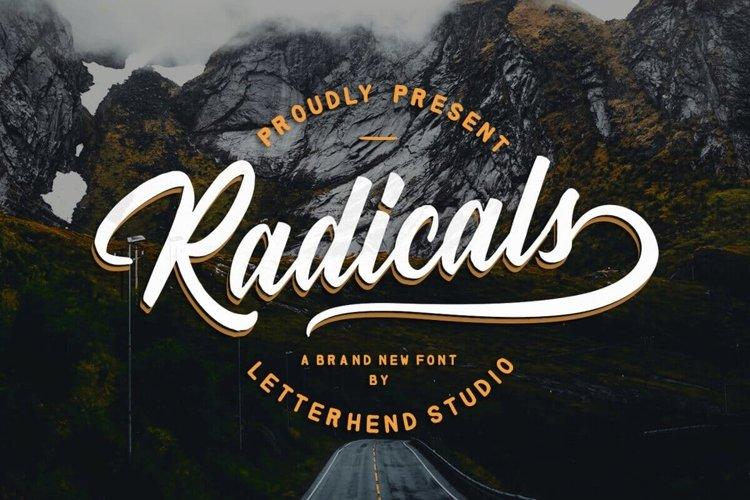 Radicals Script example image 1