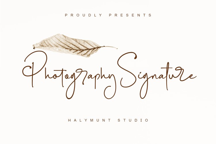 Photography Signature example image 1