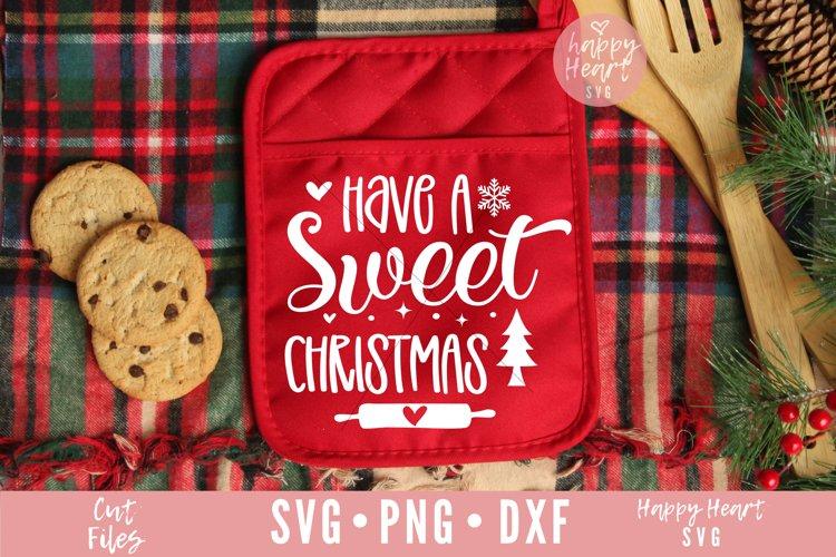 Have A Sweet Christmas SVG example image 1