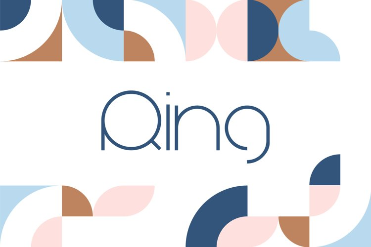 Ring Sans Font Family example image 1