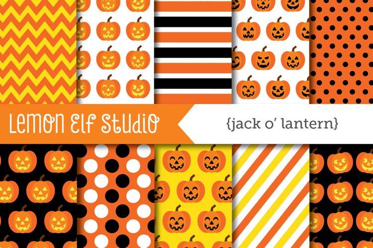 Jack OLantern-Digital Paper (LES.DP45)