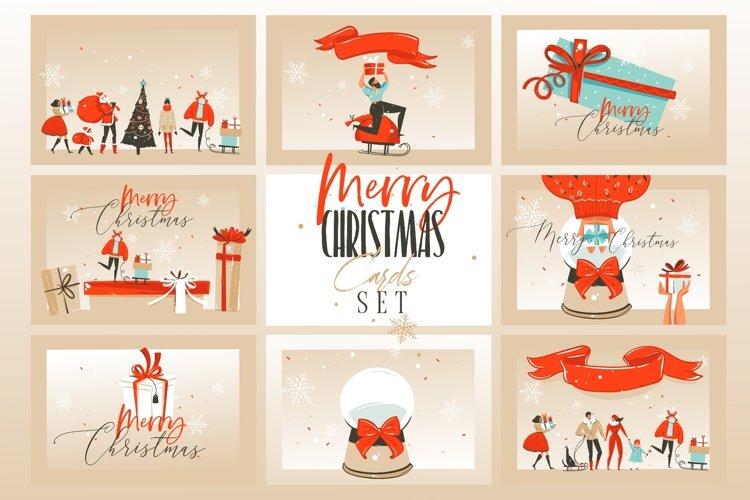 Christmas cards set example image 1