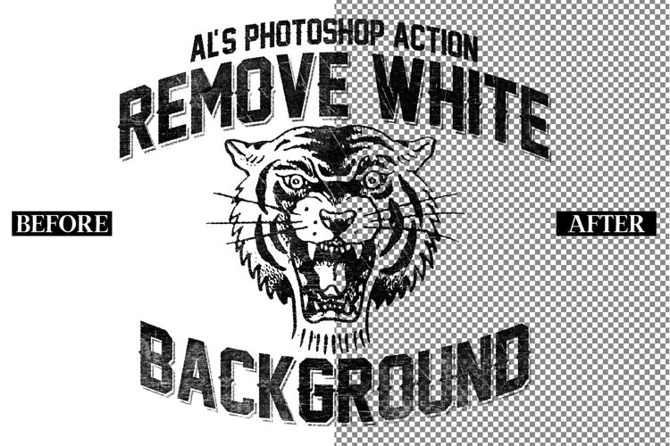 Remove White Background PSD Action
