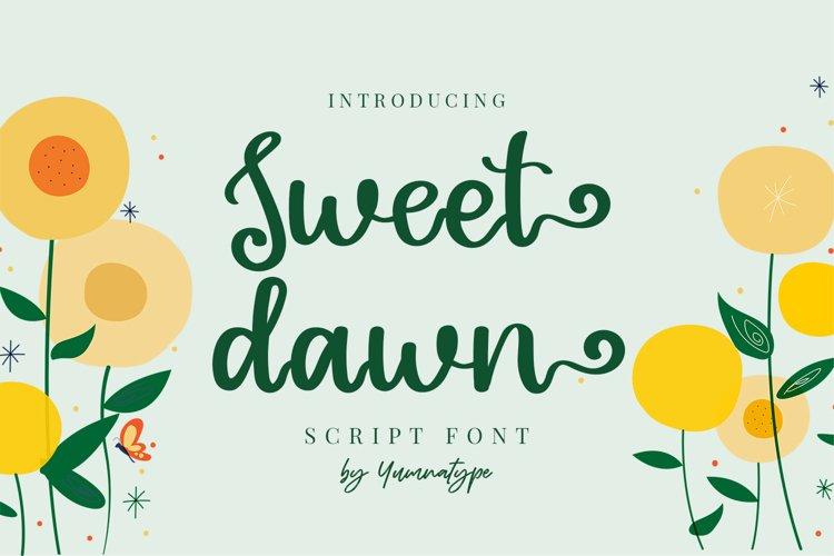 Sweet Dawn example image 1